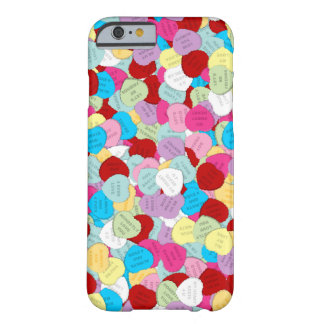Valentines Candy Hearts-iPhone 6 Case