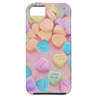 valentines candy hearts iPhone SE/5/5s case