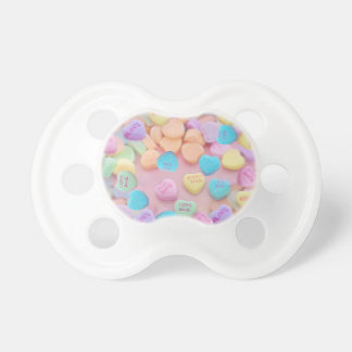 valentines candy hearts pacifier