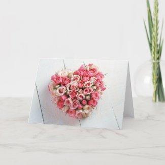 Valentines Card card