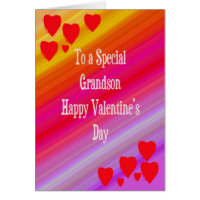 Valentine's Card for Grandson