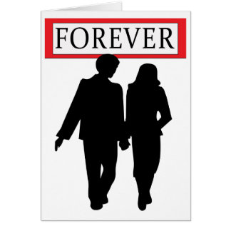 Valentine's Card, Forever! Greeting Card