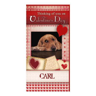 Valentine's card from the dog