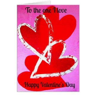Valentine's Card Love Heart