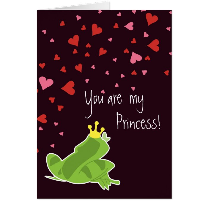Valentine's Card - You are my Princess