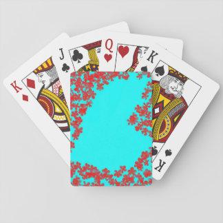 Valentine's Cards Blue Heart Floral