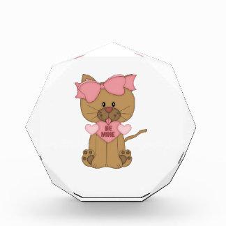Valentines Cat Be Mine Award