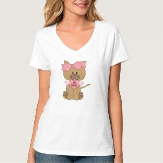 Valentines Cat Be Mine Heart Shirt