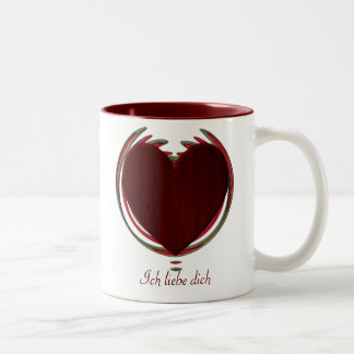 Valentines Collection Two-Tone Coffee Mug