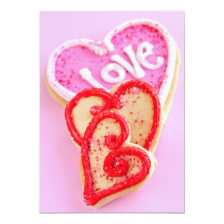 Valentines cookies card