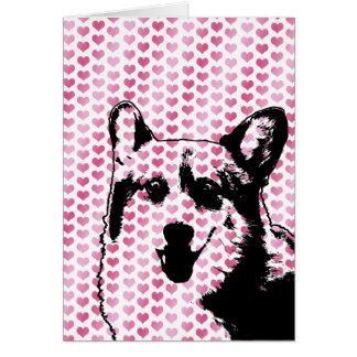 Valentines - Corgi Silhouette - Owen Card