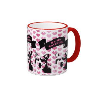 Valentines - Corgi Silhouette - Owen Mug
