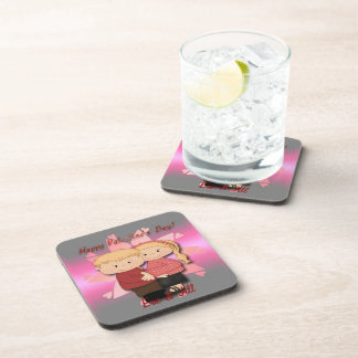 Valentine's Couple Drink Coaster Set (6)