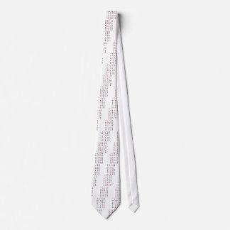 Valentine's Crossword Tie