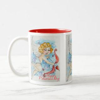 Valentines Cupid Mug