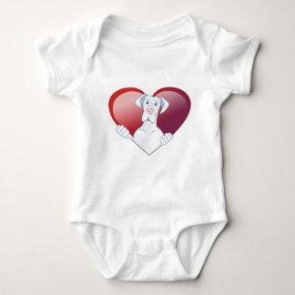 Valentine's Dane - Always In My Heart Infant Creeper
