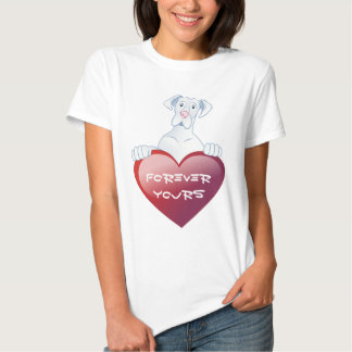Valentine's Dane - Forever Your T-shirt