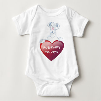 Valentine's Dane - Forever Yours Baby Shirt