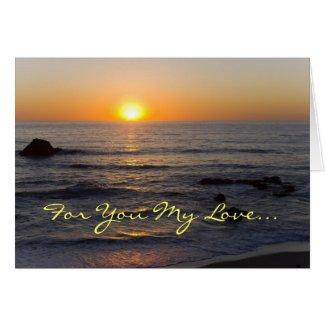Valentine's Day 1 Corinthians 13:4-8 Greeting Cards