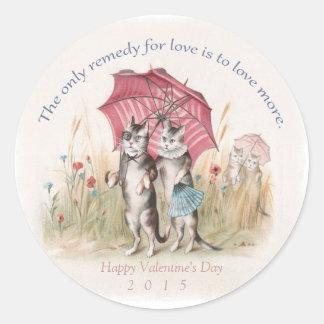Valentine's Day 2015 - Cute Vintage Sticker