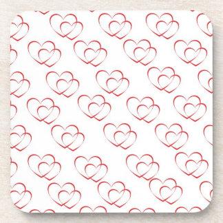 Valentine's Day 2 Drink Coasters