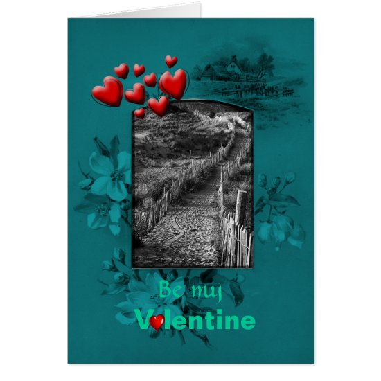Valentines Day - A journey lays ahead, be mine Card
