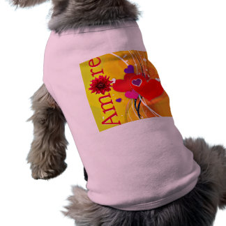 """Valentine's Day """"Amore"""" with Red Hearts Shirt"""