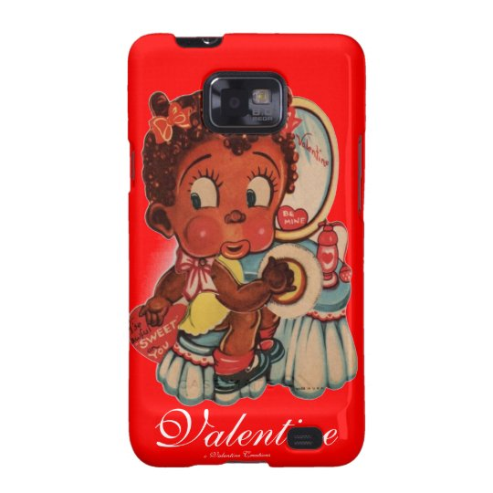 VALENTINES DAY ANDROID CASE COVER - BLACK AMERICAN