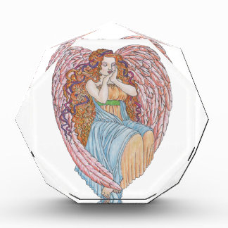 Valentine's Day Angel Acrylic Award