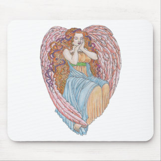 Valentine's Day Angel Mouse Pads