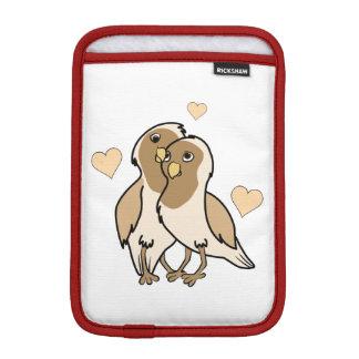 Valentine's Day Antique White Love Birds Sleeve For iPad Mini