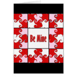 Valentine's Day Art Be Mine Cards