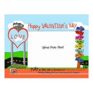 Valentine's Day at Heckery Dekkery Dot  ~ Postcard