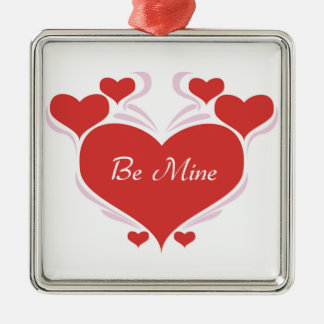 Valentines Day Be Mine Christmas Tree Ornament