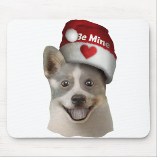 Valentines Day Begging Dog - Multiple Products Mouse Pad