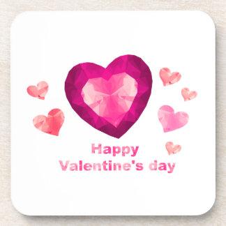 Valentine's day Beverage Coasters