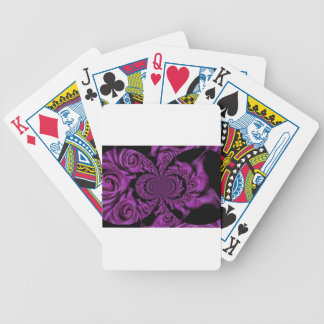 Valentines day bicycle playing cards
