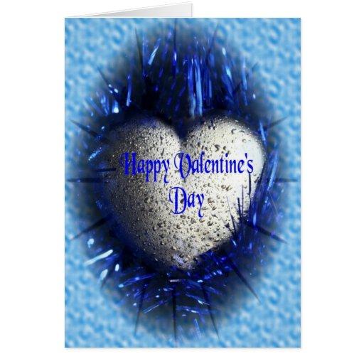 Valentine's Day (blue) Card
