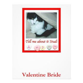 Valentine's Day Bride Letterhead