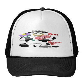 Valentine's Day Bull Trucker Hat