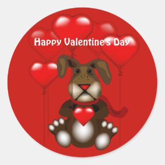 Valentine's Day Bunny Large Sticker