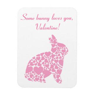 Valentine's Day Bunny Magnet
