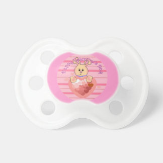 Valentines Day Bunny Pacifiers
