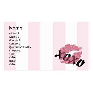 Valentine's Day - Business Business Card Templates