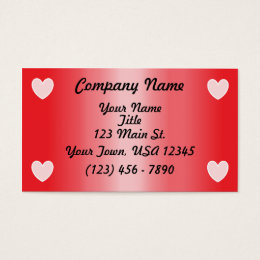 Valentines day business cards 2500 valentines day business card valentines day business card colourmoves