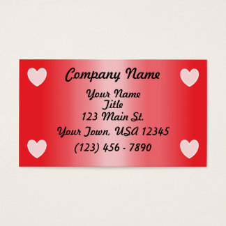 Valentine's Day Business Cards, 2500+ Valentine's Day Business ...