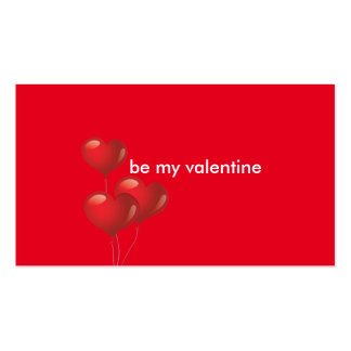 Valentine's Day Business Cards