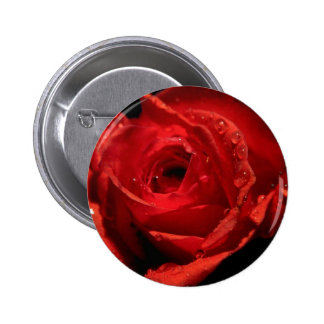 Valentine's Day button badge