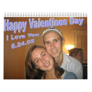 Valentines Day Wall Calendars