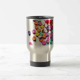 Valentine's Day Candy Hearts Mugs